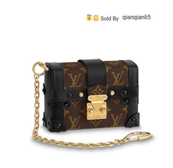 qianqianli5 2A8J M62553 NEW WOMEN FASHION SHOWS EXOTIC LEATHER BAGS ICONIC BAGS CLUTCHES EVENING CHAIN WALLETS PURSE