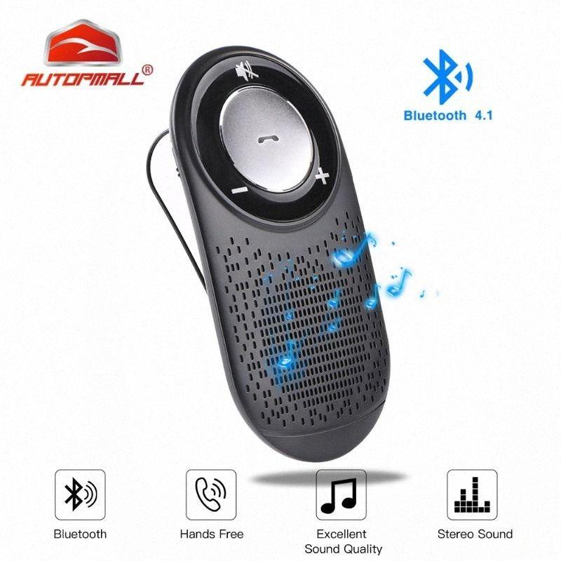 T828 Handfree Bluetooth Car Kit MP3 Bluetooth 4.1Car Handsfree Kit Поддержка 7 Языки 2 Телефон Handsfree Рабочая MP3 B039 #