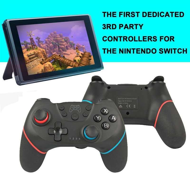 Oyun Kontrolörler Bluetooth Uzaktan İçin Nintendo için kablosuz Controller Pro Konsol Joypad Joystick için Nintendo Pro Konsolu Anahtarı