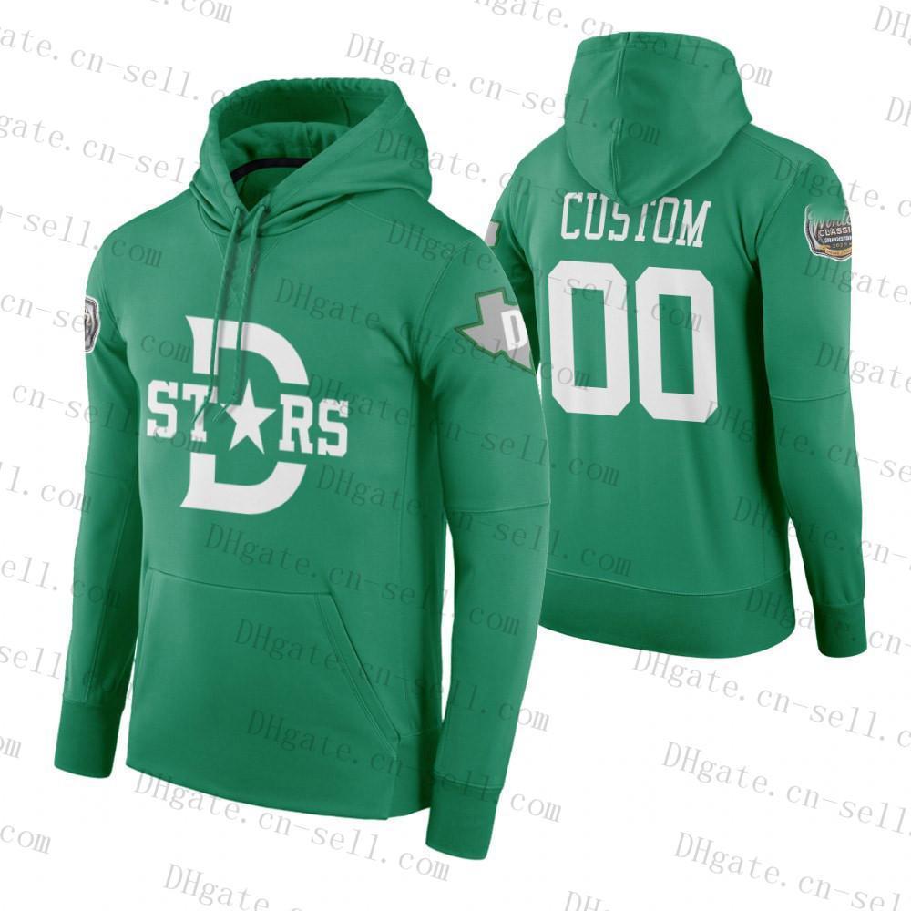 2020 hiver Classic Hommes Femmes Jeunes Jeunes Pull à capuche Vert Dallas Stars Jaunes Predators personnalisés N'importe quel nom Numéro Blank Hockey Jerseys