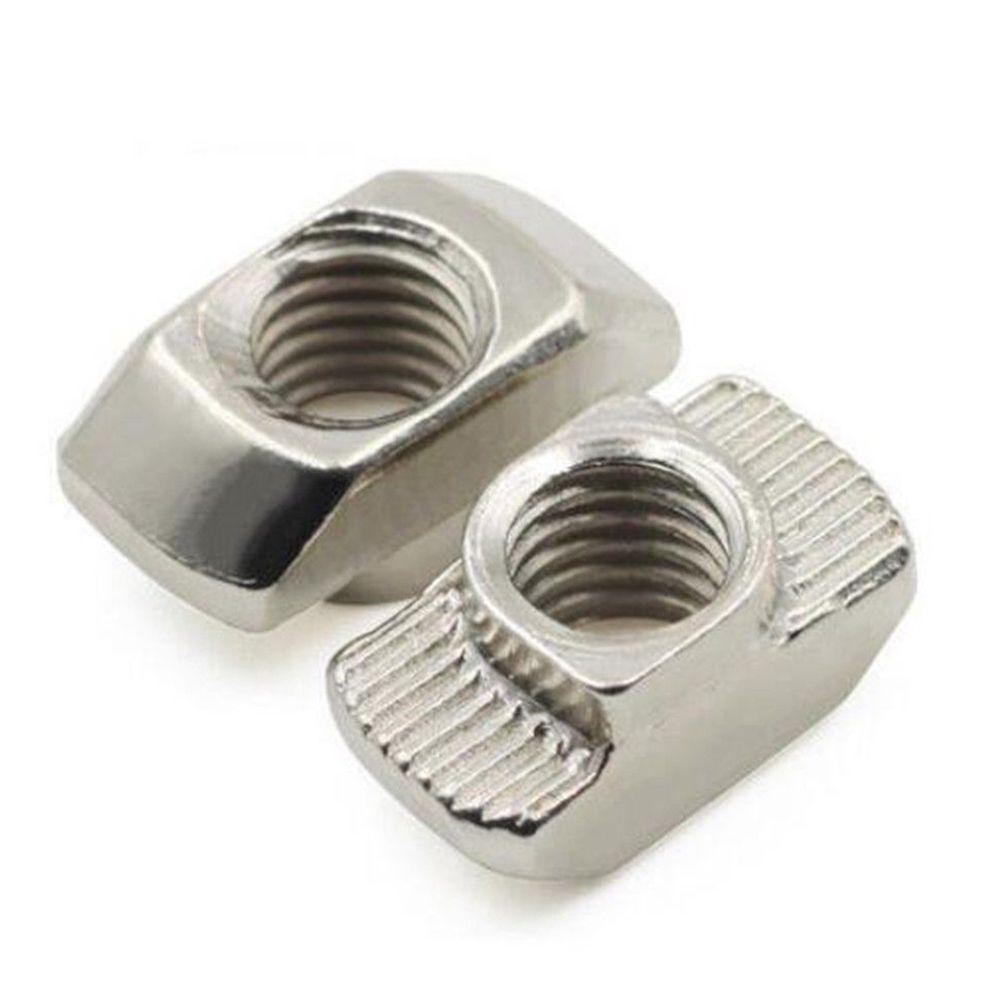 20pcs//set    Extrusion Aluminium Profile For 3D Printer Block T-nuts
