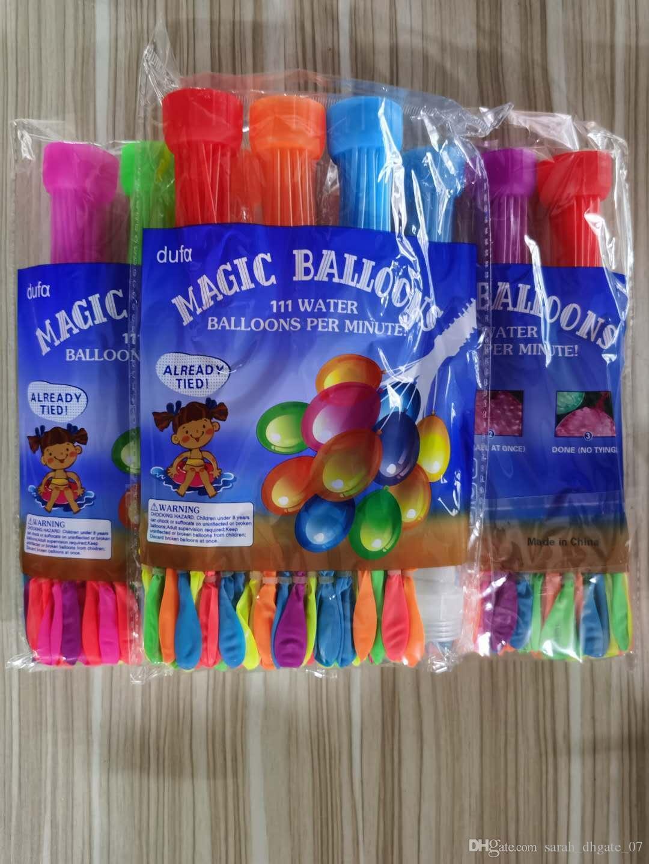 1pcs = 111balloon colorido água preenchido balão grupo do balão de água Balões mágico surpreendente bombas Brinquedos enchendo Ballons da água Jogos brinquedos 02