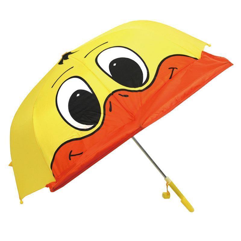 Yaratıcı Şemsiye qylLZH qqds Ördek Umbrella Ördek Şemsiye Hayvan Düdük Kulak Benzersiz özellikler ile Tasarım Karikatür Sevimli Çocuklar