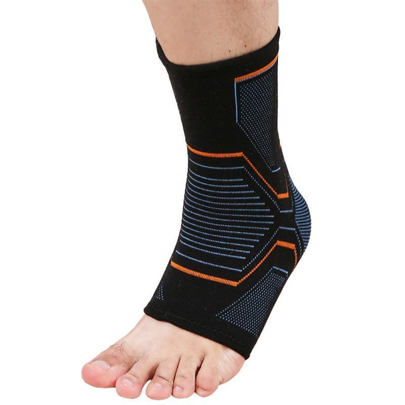 Эластичные трикотажные Спорт лодыжки поддержки Brace для Велоспорт Йога Баскетбол Волейбол Мужчины Женщины ног голеностопный сустав Protector Новые