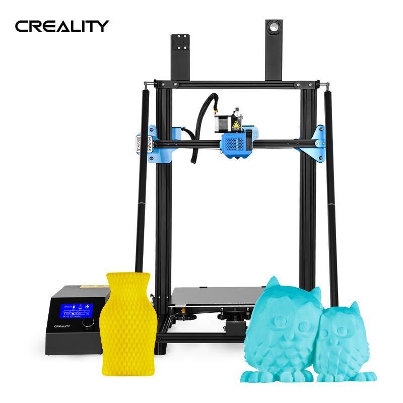 Creality 3D-3D-Drucker DIY Kit High Precision CR-10 V3 TMC2208 Upgrade-Treiber Große Druckgröße mit 8G Sd Karte PLA Filament