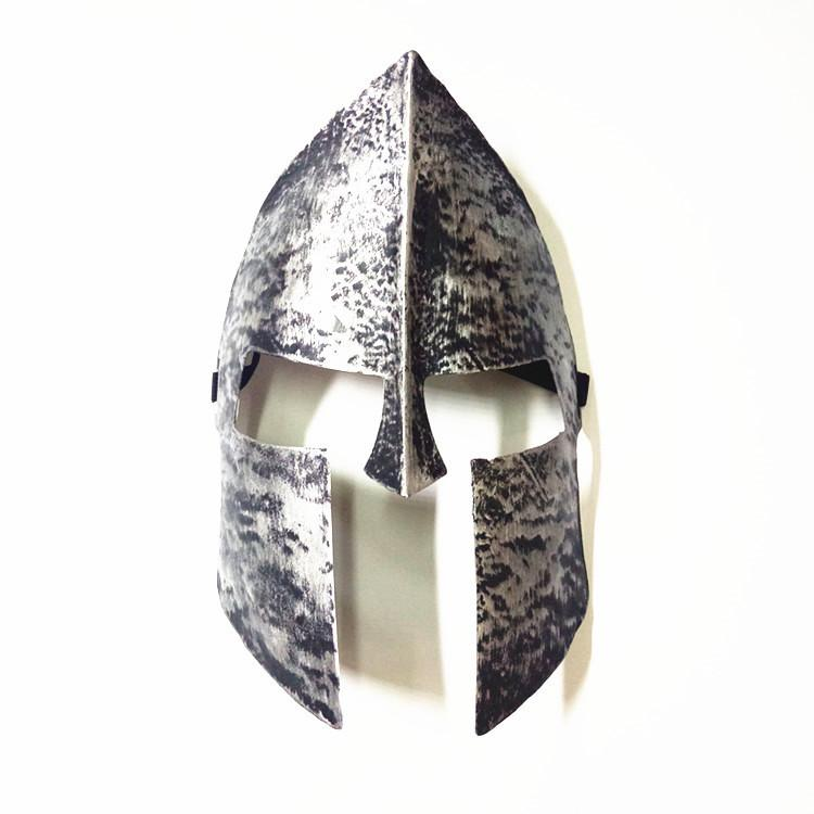 Spartan Warrior Helmet Horror Mask Knight Hero Masquerade Full Face Masks for Halloween Christmas Party Decoration Wx9-928