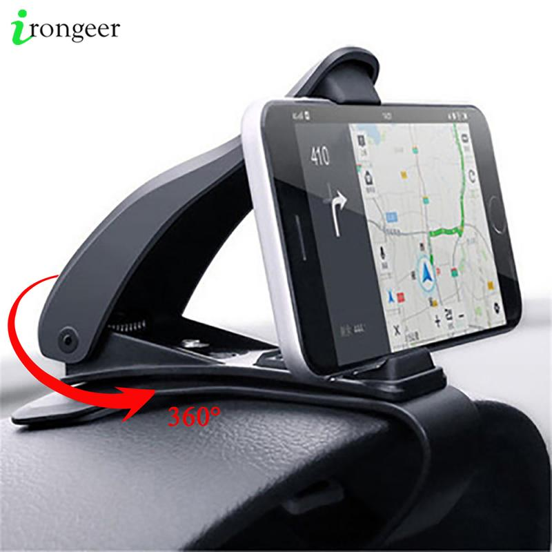 Cell Phone in Car GPS Dashboard Bracket for iPhone 11 XR 7 Samsung Xiaomi Universal 360 Mount Stand Holder