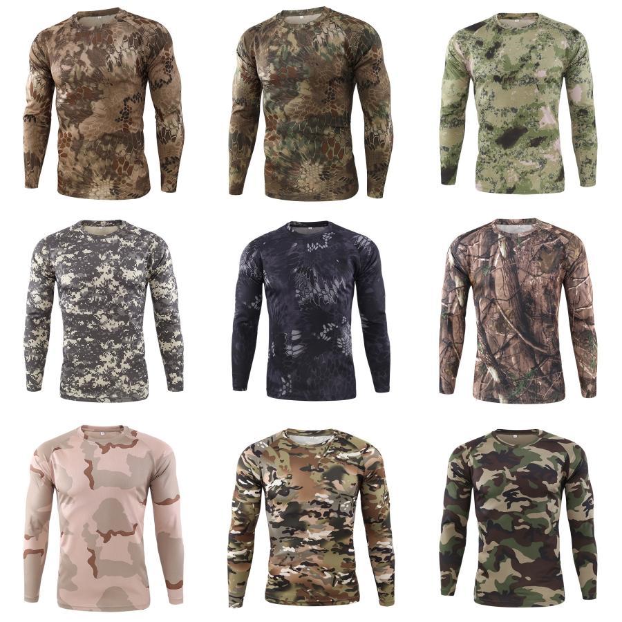 Hombre caliente nueva primavera moda o cuello delgado ajuste manga larga camisetas Hombre tendencia casual camiseta tops # 674
