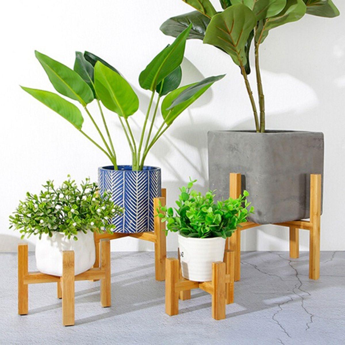 بوعاء النباتات الوقوف منتصف القرن الحديثة حامل مصنع قابل للتعديل في اناء للزهور العصارة الزهور أو الشموع شحن مجاني