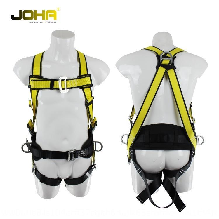 JOHA polyester Polyester Bâtiment ceinture de sécurité de style européen de cinq points pendaison ceinture de sécurité aérienne de travail