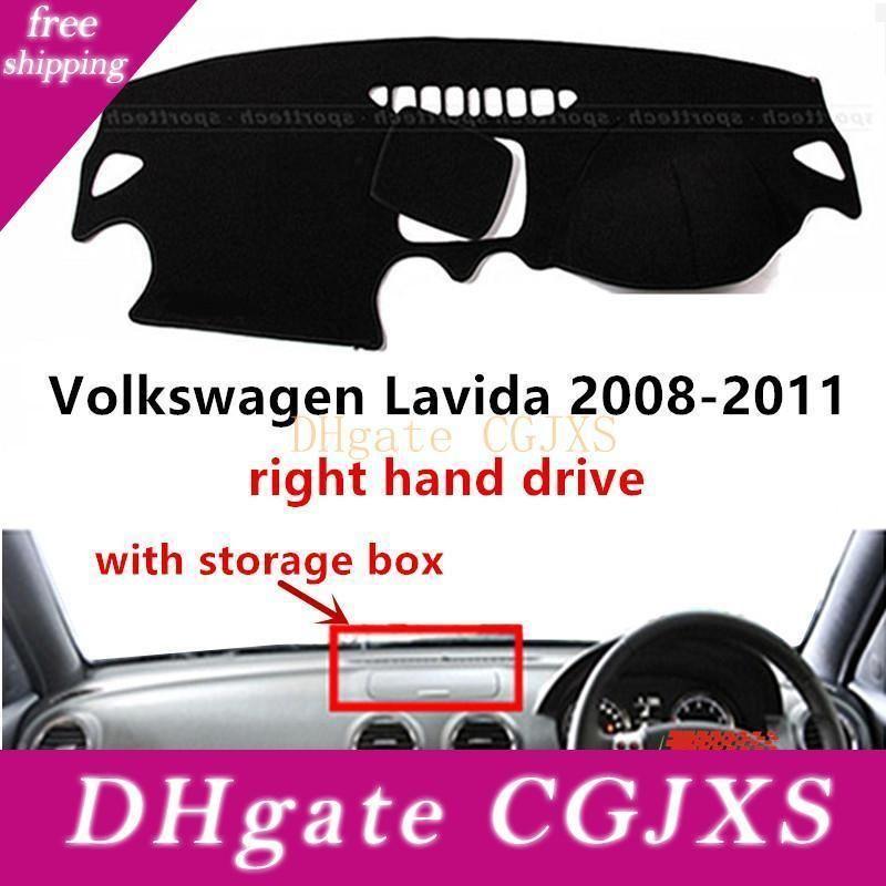 Taijs Rechtslenker-Auto-Armaturenbrett-Abdeckung für Lavida Mit Storage Box 2008 -2011 Hotselling Auto-Armaturenbrett-Matte