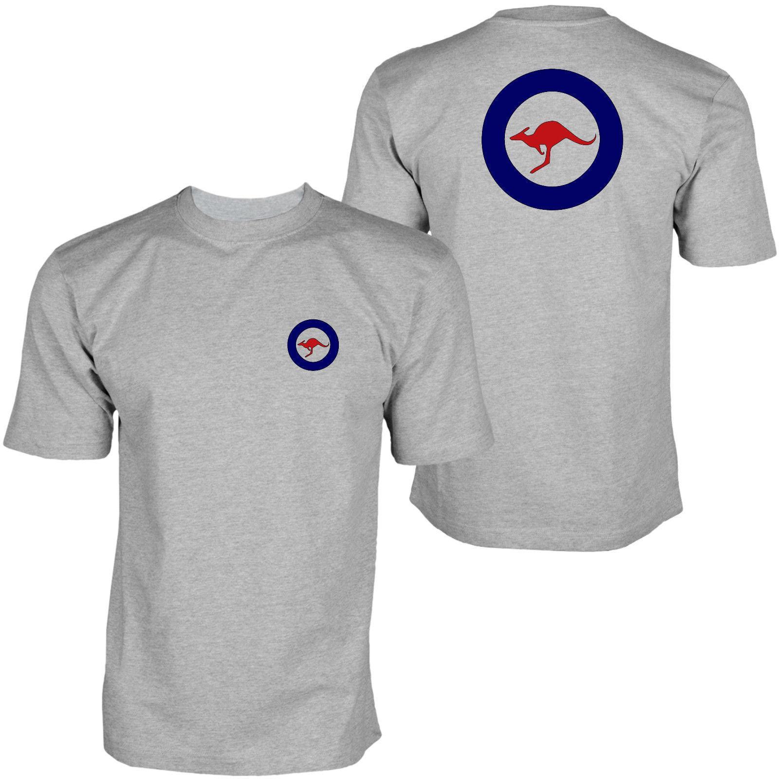 2019 Australian Airforce Adf Defense-T-Shirt T-Shirt der neuen Männer