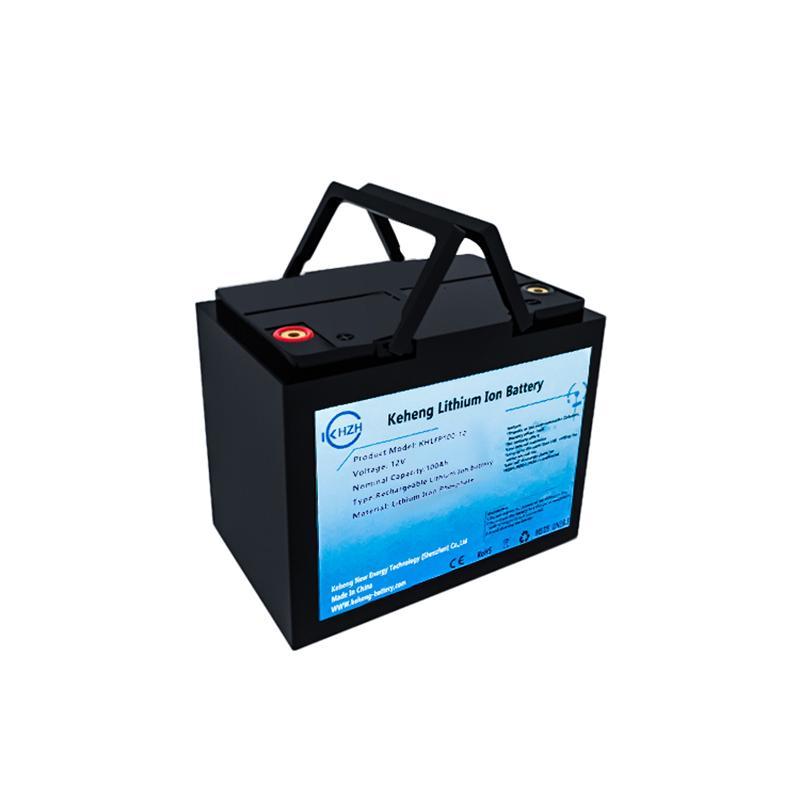 Güneş pil RV Derin döngüsü 12v 100Ah 200AH 300ah lifepo4 şarj edilebilir 12 voltluk lityum iyon pil güneş