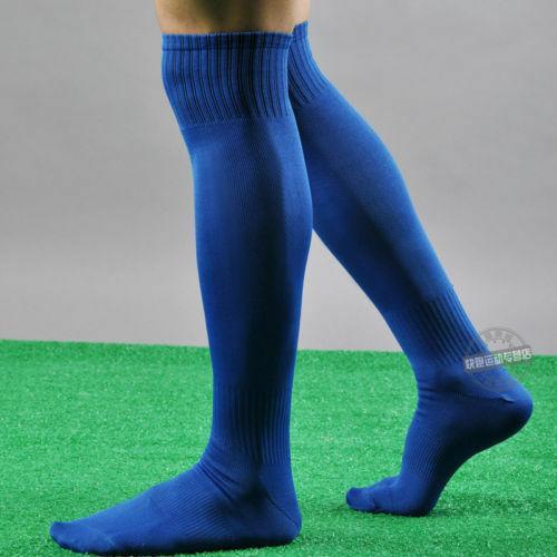 2020 Мода Мужские Спорт Футбол равнину Длинные носки За Knee High Носок Бейсбол Хоккей 6 цветов