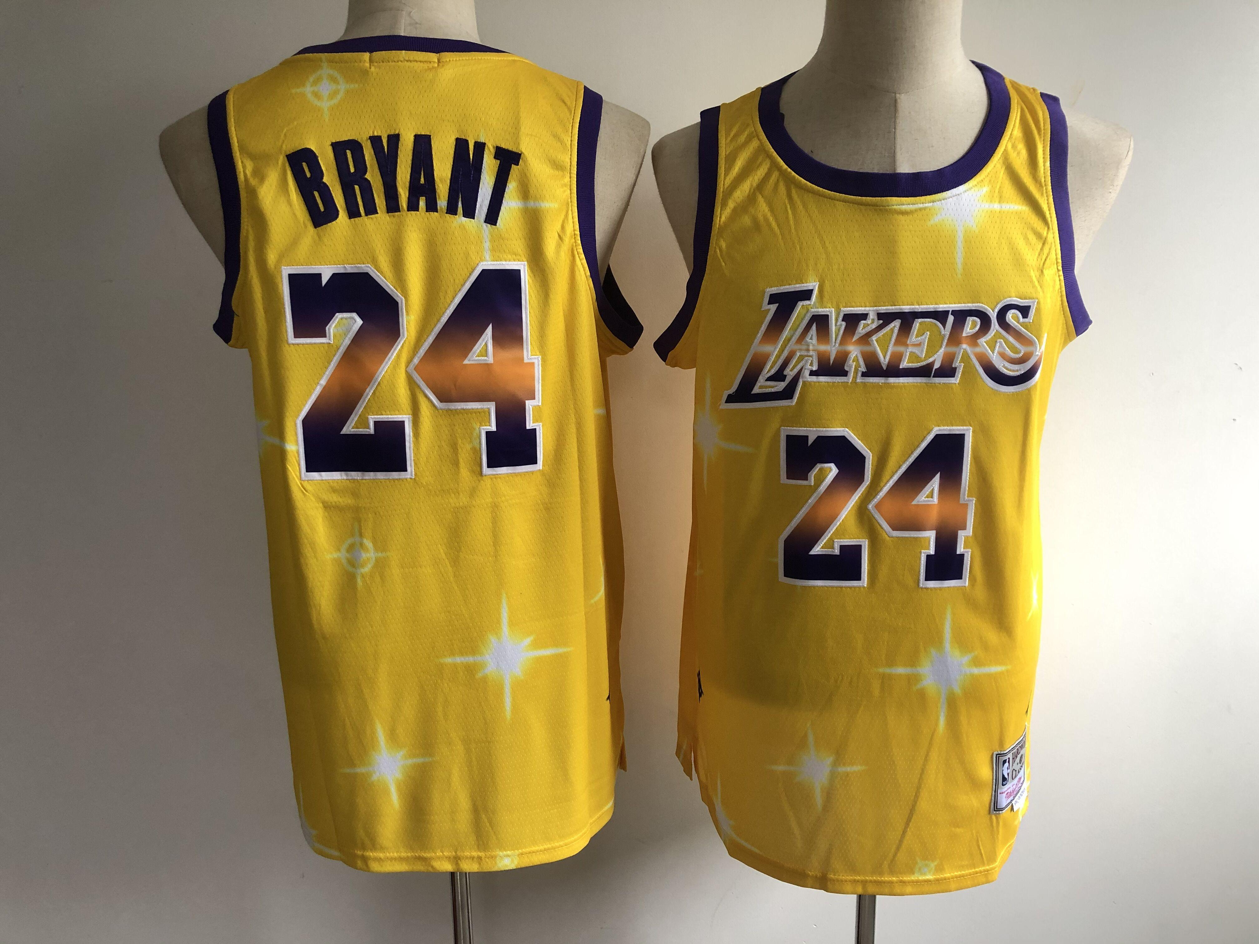 2021 2020 Men Retro Fashion Raptors Lakers 23 Bulls James 24 Bryant 15  Carter 32 Hardaway Star Embroidery Basketball Jerseys From Linda201826,  $20.58