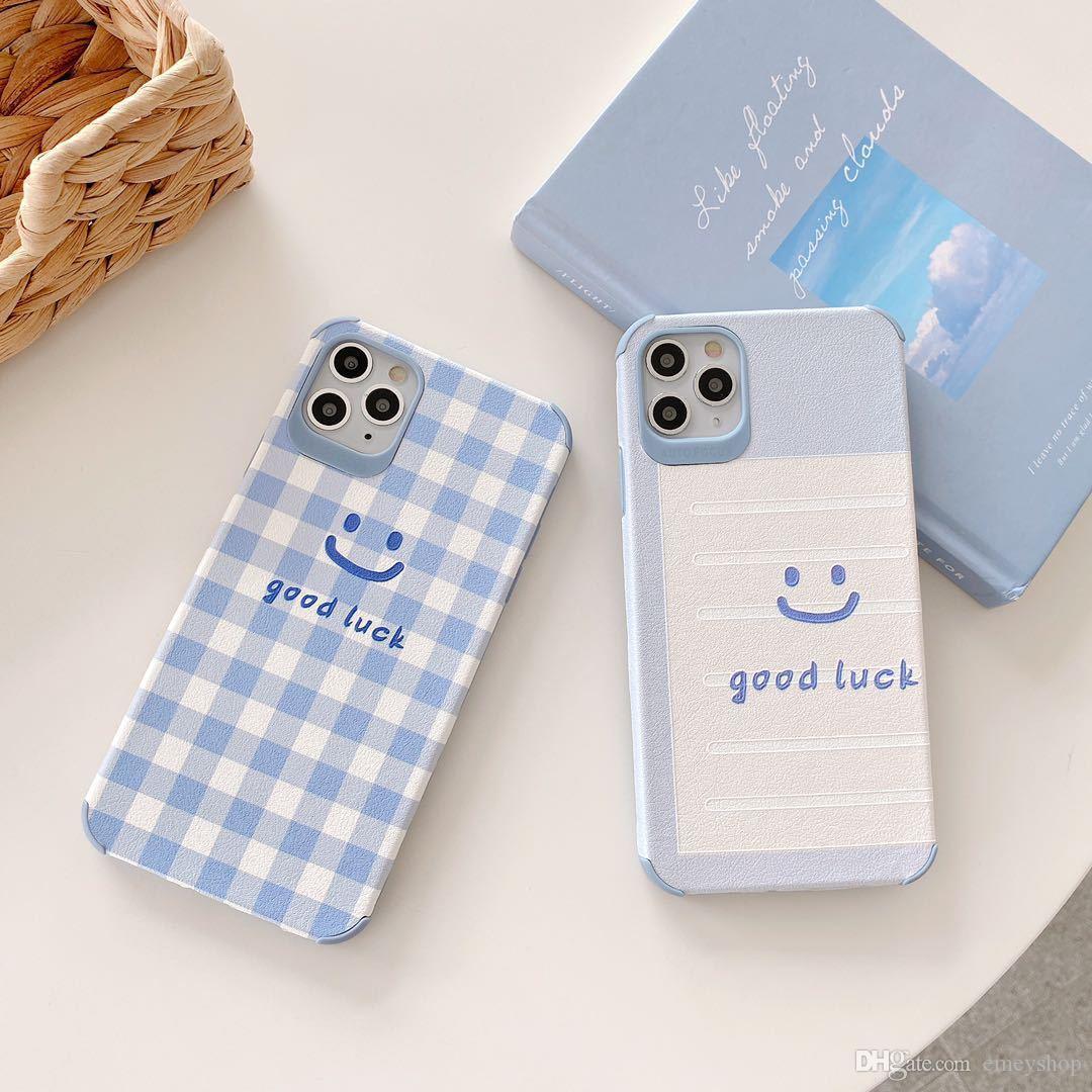 design de luxo telefone caso do iPhone para a Apple 11 Pro Max X XR XS Max 8 7 6S 6 Plus caso capa macia Carton TPU i 7plus 8plus Cases