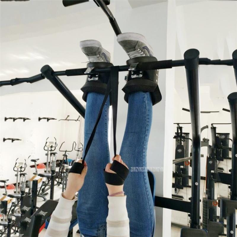 Accessoires Bottes d'invervation Crossfit Bottes anti-gravité Crossfit Accrocher la manche d'entraînement à l'envers pour la levée de poids