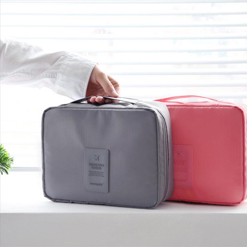 Sacchetto del trucco portatile impermeabile da viaggio del marchio Borsa da viaggio 2019 Vendita Borsa Organizzatore Moda Bellezza Bellezza Necessità Caso di lavaggio caldo cosmetico EORBT