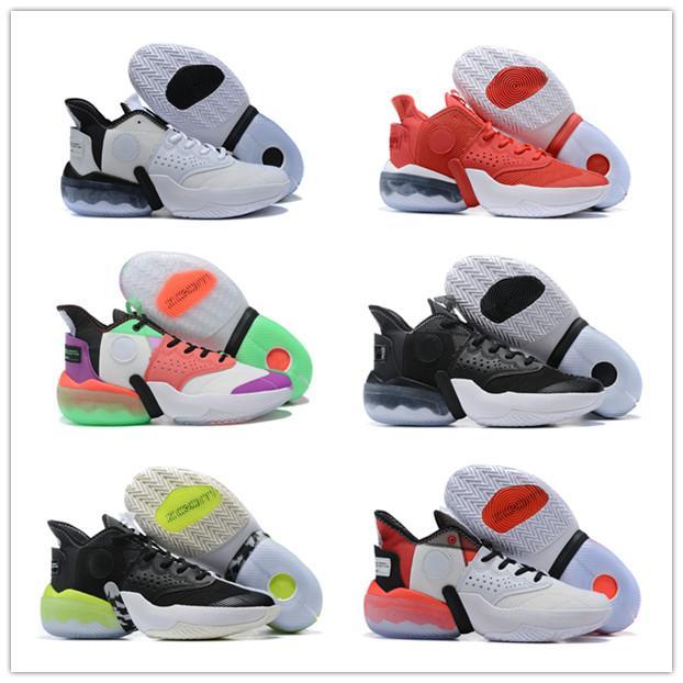 2020 nuovo modo Jumpman Reagire Elevation PF squadra di basket Uomo Scarpe di alta qualità Bianco caffè scuro corrispondenza dei colori delle scarpe da tennis di sport