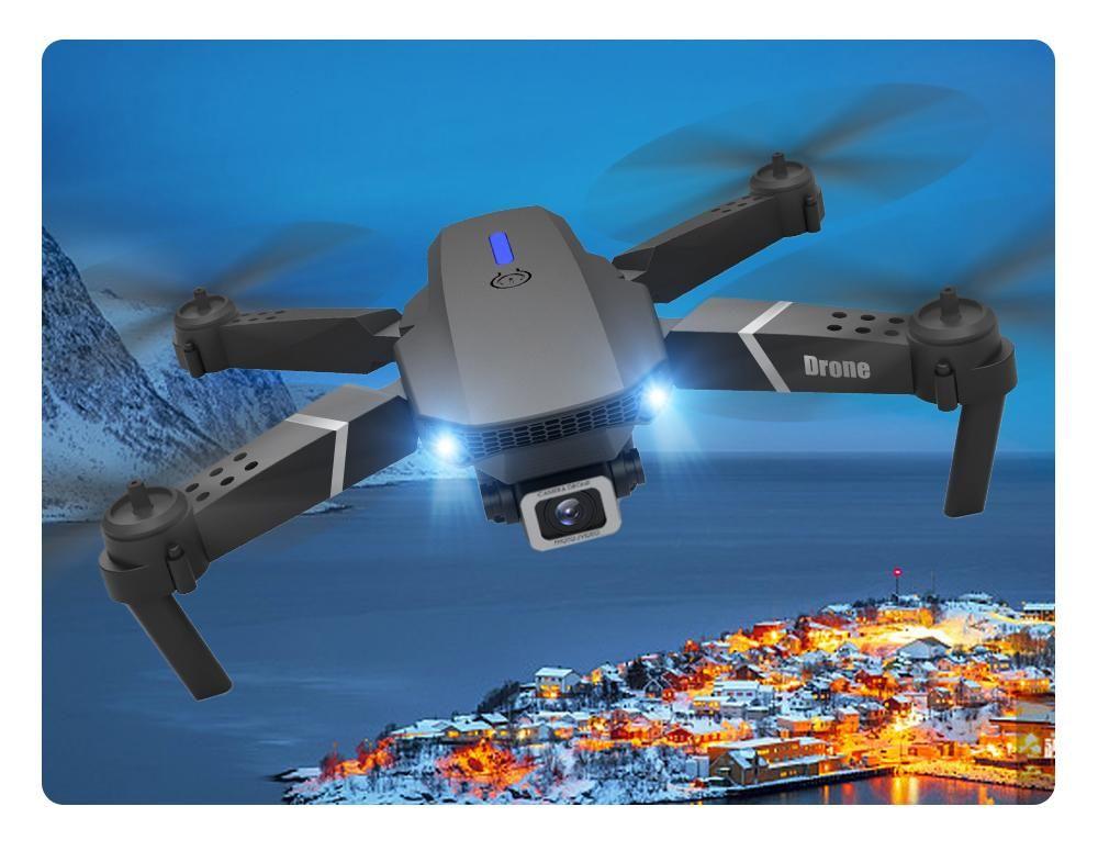 RC Drone Quadrocopter БЛА с 4K камеры E525 WIFI FPV широкоугольный HD Высота Трюмные Пульт дистанционного управления Складные Quadcopter Дрон Игрушка 1шт
