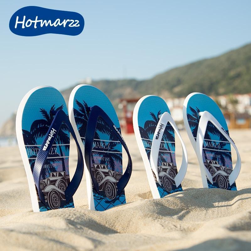 cavalo preto Hotmarzz 2020 novos chinelos de homens antiderrapante trendy verão flip-flops chinelos flip-flops impermeável