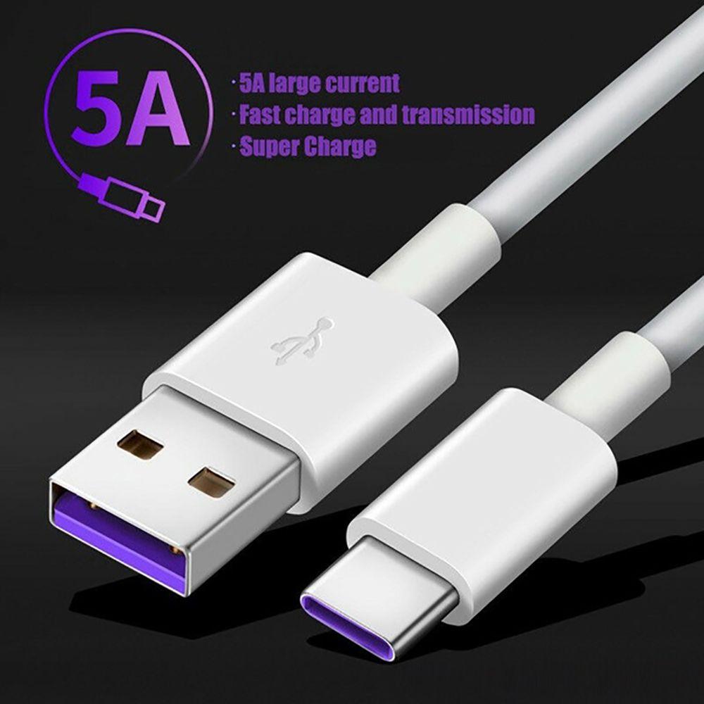 5A USB Tipo C Para Huawei cabo P40 Pro Companheiro 30 P30 Pro Supercharge 40W carregamento rápido USB-C cabo do carregador para o cabo de telefone
