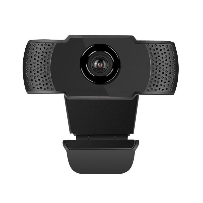 Веб-камера Full HD 1080P 30 FPS USB 150 мм веб-камеры 1920 x 1080 Встроенная шумоподавление Микрофон Бесплатная пробка и воспроизведение веб-камеры