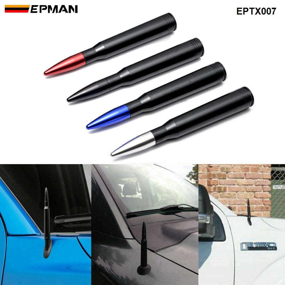 Epman Universal Aluminum Car SUV Antena para Dodge Ram CRV RAG4 JEEP 50 Cal Calibra Calibre Curto Antena Kit EPTX007