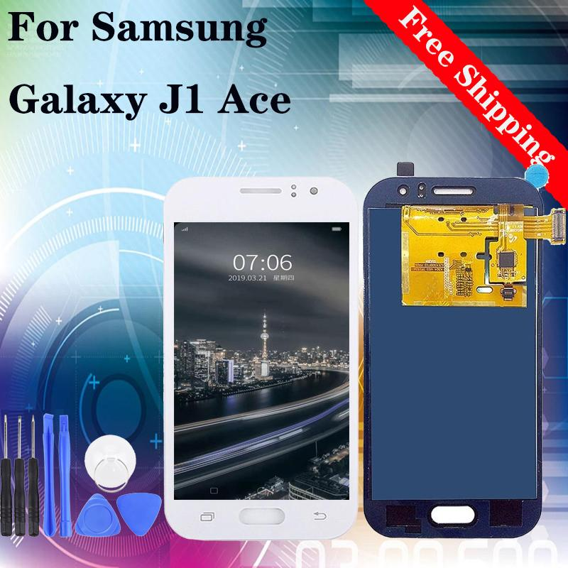 TFT brightness disadjustable For Samsung J1 2015 J110 LCD Screen Replacement Display Touch Screen Completed Digitizer with Free Tools