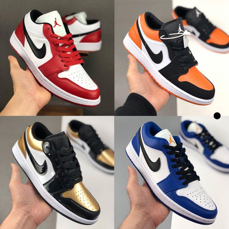 Hombres de la moda las mujeres zapatillas de deporte de diseño j1 1s jd 1 alto jumpman deportivos skate zapatos de baloncesto entrenadores bajas Alpargatas verde