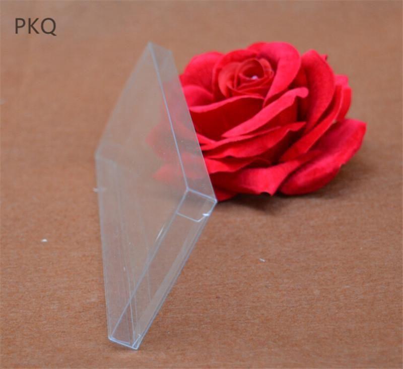 Immagazzinaggio caramella Pvc scatole di favore Jewelry Box imballaggio 30pcs trasparente regalo di regalo della festa nuziale di plastica 1 * w * h Box homeindustry DEabl