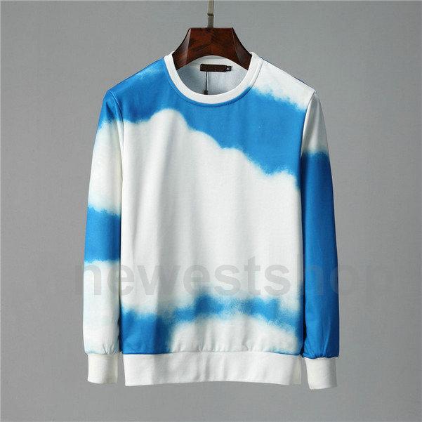 Mode Designer Luxuskleidung Herren Italien Paris Blauer Himmel Wolke Brief Drucken Hoodies Pullover Mit Kapuze Hoody Womens Casual Sweatshirt