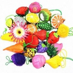 Bolsa plegable Cutel fruta plegable favorable al medio ambiente de recepción de bolsas de viaje bolso de los bolsos y bolsas para niños VVA326 xJiE #
