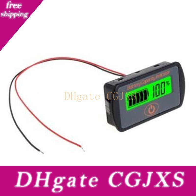 12v 24v Lcd Capacité de la batterie Voltmètre testeur Indicateur 12v 24v testeur batterie de voiture Outil de travail parfait et la livraison gratuite