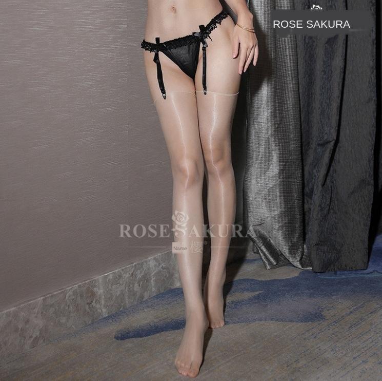 RgCjq New produtos brilhantes óleo brilhante meias 1d ultra-finas de óleo-light sexy sensuais na altura do joelho de seda de seda da coxa meias de seda sem margens para wom
