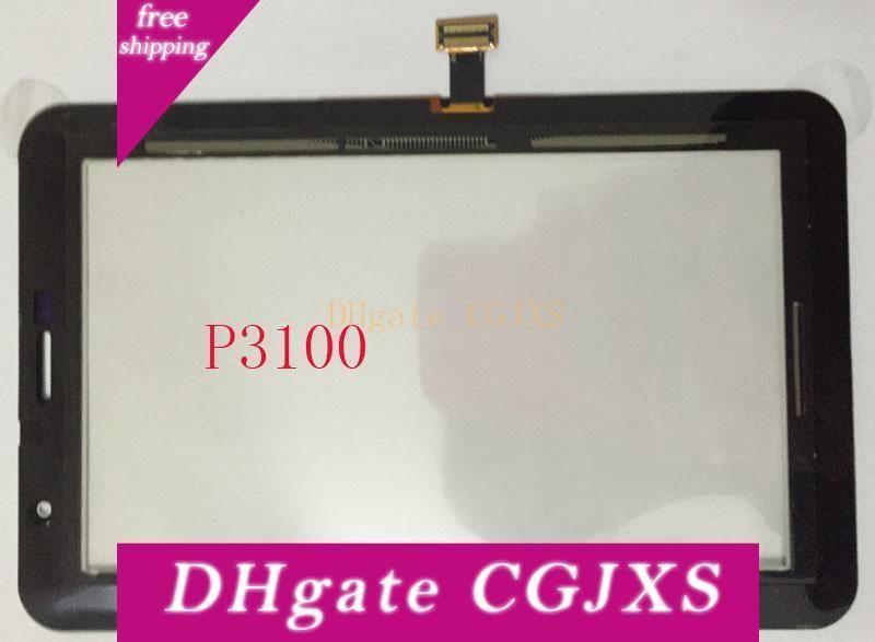 Ранг качества Tablet сенсорный экран Замена экрана для Galaxy Tab 2 P1000 P3100 P6200 P3110 сенсорный экран мини 5шт