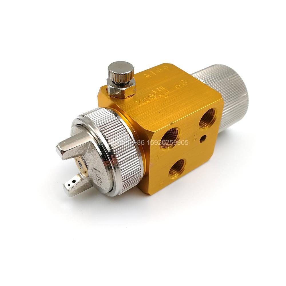 YS A-100 Mini Auto automatique Atomisation Air peinture Pistolet pour la machine en plastique, de haute qualité Pistolet automatique