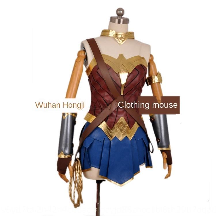 TUcOl 7EY9w Halloween Superman performance clothing Wonder Woman suit animation cos Wonder Halloween Superman performance costume clothing ad
