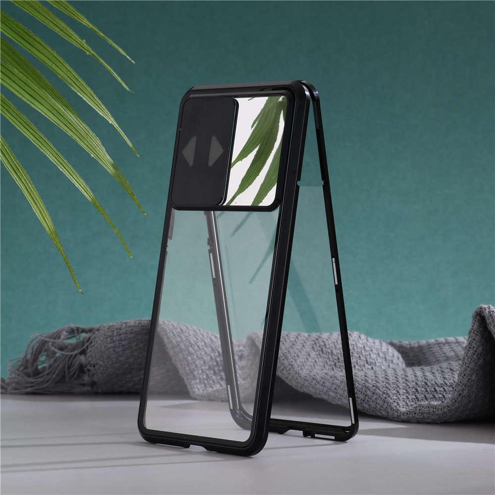 Lüks Lens Koruma Anti Peeping Çift Taraflı Cam Cep Telefonu Kılıfı Manyetik Emilim iPhone 11 11pro Max X XS XR XSMAX 7 8 Artı