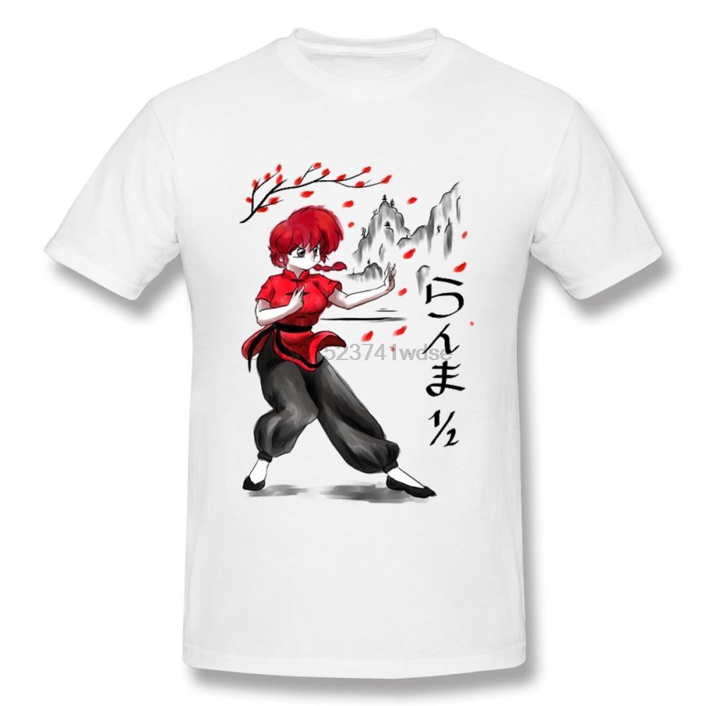 Classic Anime Ranma 12 Nibun-No-Ichi uomini della maglietta dell'immagine personalizzata O-Collo S-6XL Harajuku Streetwear Tee Shirt