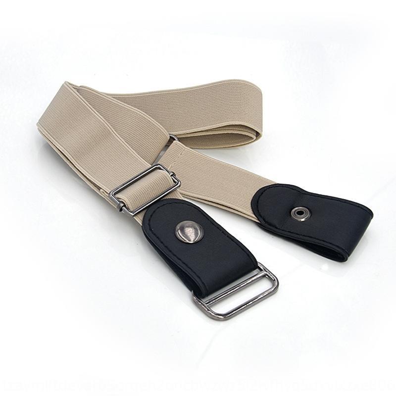 banda elastica semplice nastro invisibile fascia elastica regolabile in pelle tutto-fiammifero slim fit belt pigro 13 colori