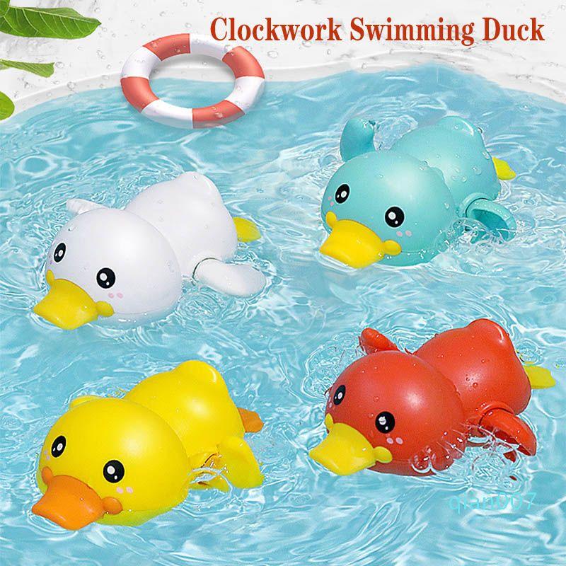 الصيف الطفل لعبة حمام دش البرتقالة الأطفال السباحة لعب المياه لطيف ليتل صفراء بطة الاستحمام حوض لعب طفل هدايا