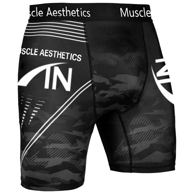 Hombres pantalón corto gimnasios de culturismo Joggers entrenamiento Run Pantalones cortos de ciclista de alta compresión elástica flaco rápido secado polainas Y200901