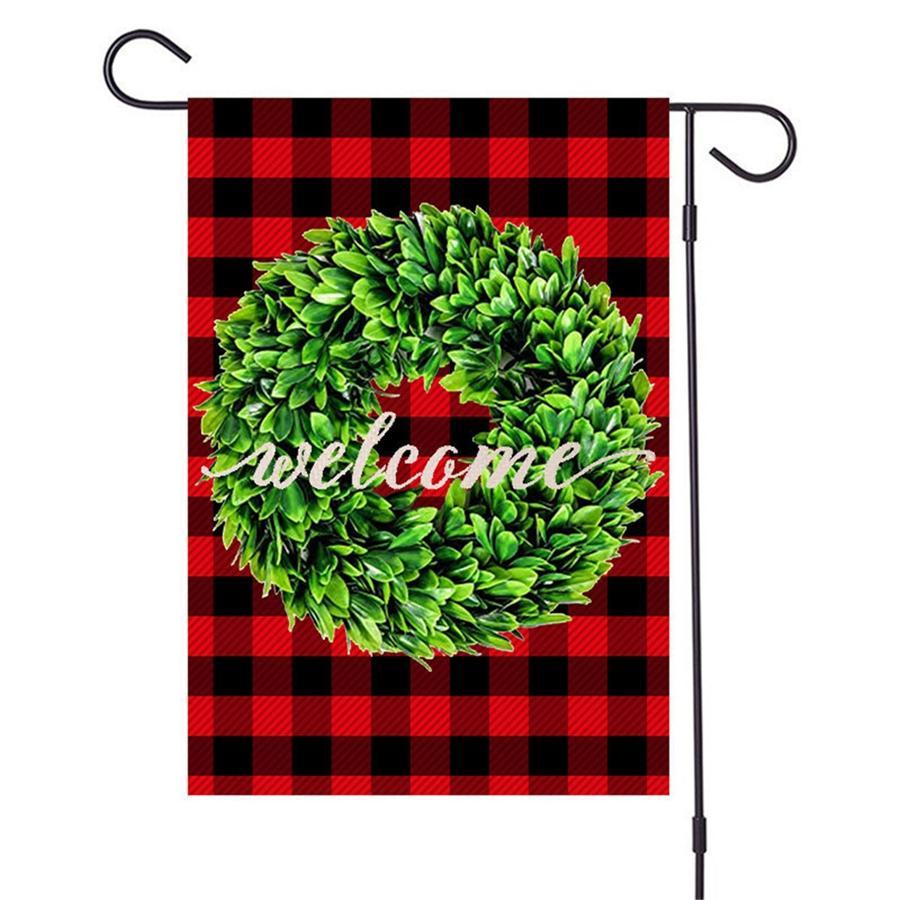 Garten Flag Geist-Schläger-Hexe Printed Garten Flagge 32 * 47cm Im Freien Flagge Fall Dekorationen GWC925 # 279