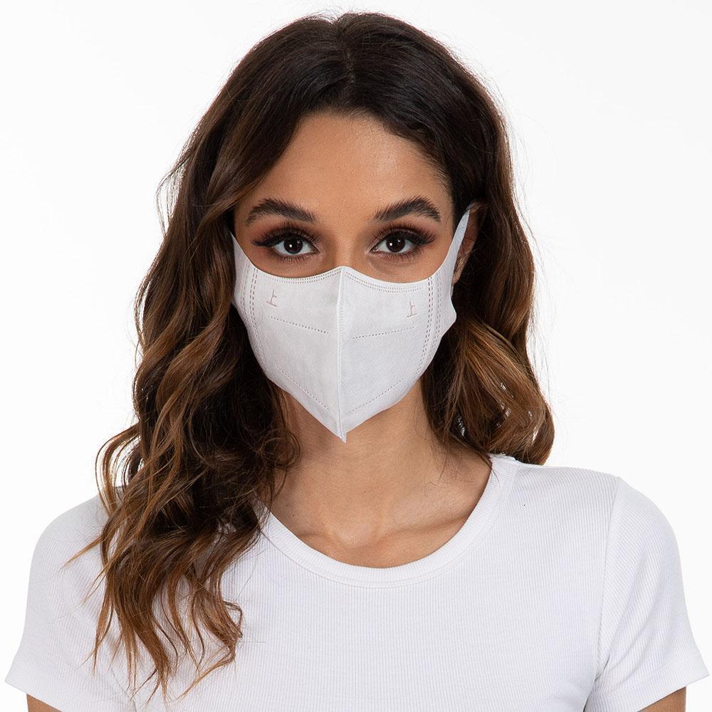 Anti-Bakteriyel 3D Stereo Tek Koruma Aktif karbon Filtre Maskesi Karşıtı PM2.5 Karşıtı Kirli Hava Ağız Yüz Mask6HFF Protect Maske