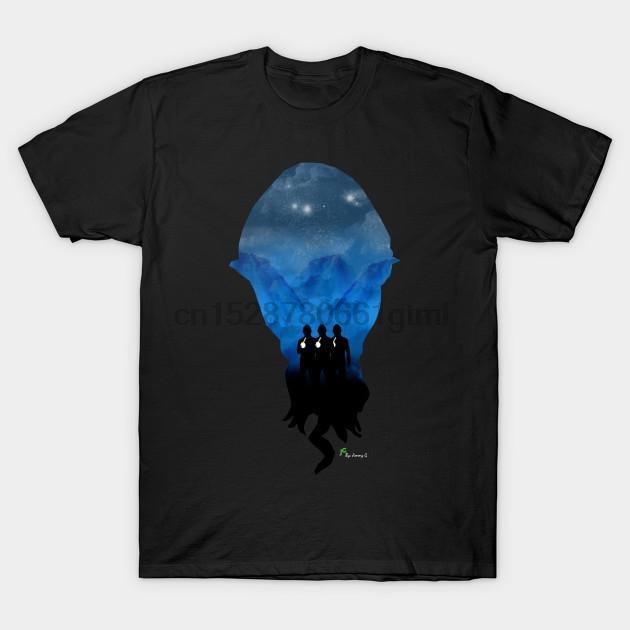 Hombres camiseta de manga corta de los Ood doctor Who mujeres de la camiseta camiseta