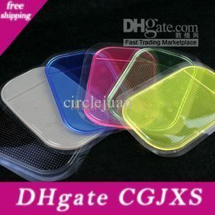 (50pcs / Lot) Magia Fixo Pad para o telefone Mp3 Mp4 Cheap Wholesale Car antiderrapante Pad China