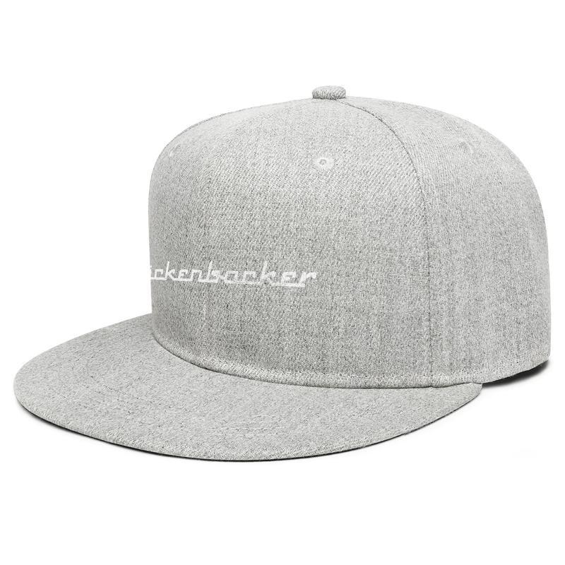 Rickenbacker Gitarlar Gri Sıkıntılı Unisex Düz Brim Beyzbol Şapkası Spor Koşu Trucker Şapka Beyaz Mermer Taş ABD Bayrağı