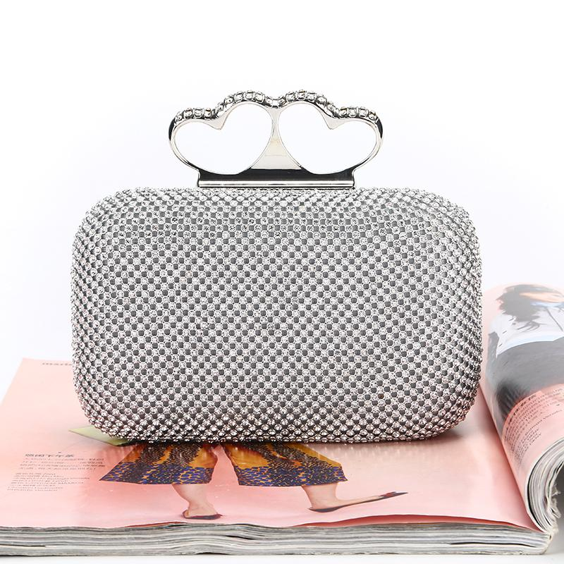 Оптовая / бренд фабрик новой ручной сказочного алмаз вечер сумка / клатч с атласной для свадьбы / банкет / партии / Porm (больше цветов)
