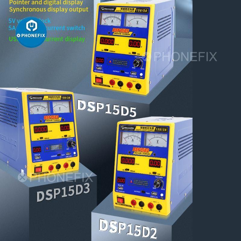 Mechanic Digital-Smart-DC-Stromversorgung DSP15D5 DSP15D3 Adjustable Voltage Regulator One Click-Boot für ohne Batterie